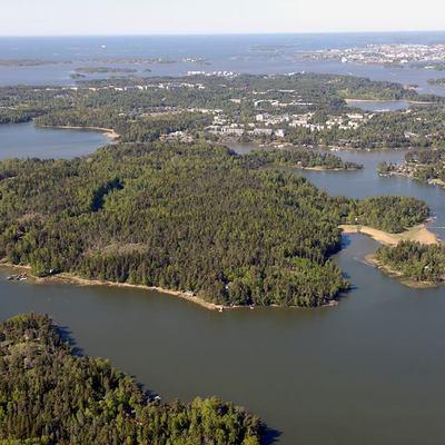 Box aerial view
